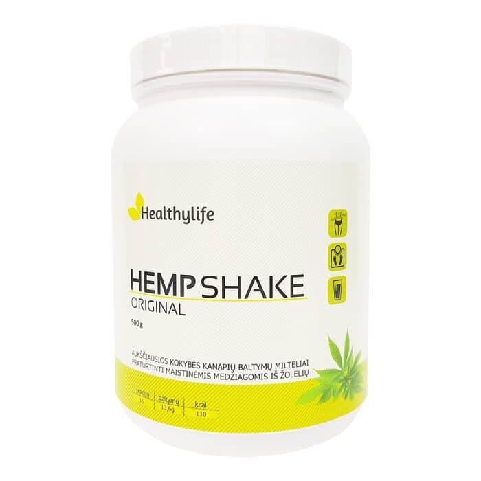 Healthylife kanapių baltymai