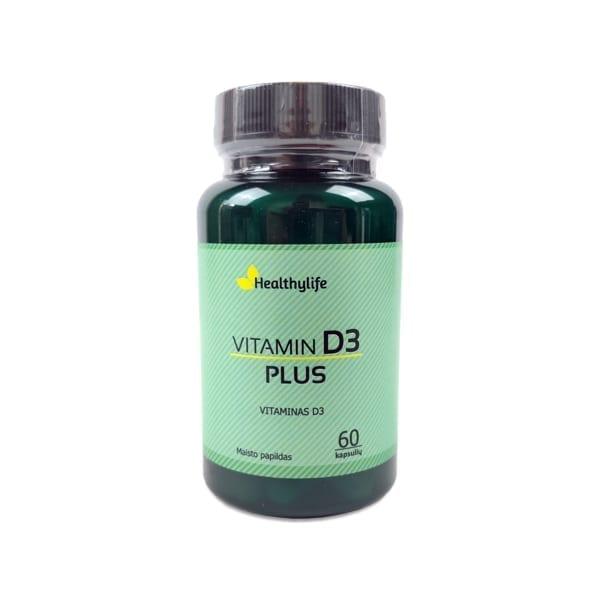 Vitaminas D3 Plius