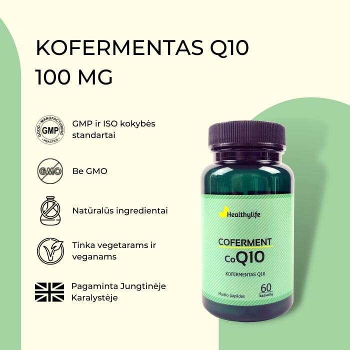 Kofermentas Q10 II