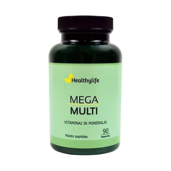 Multi vitaminai ir mineralai