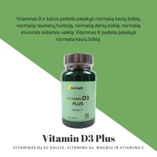 Vitamin D3 Plus 2