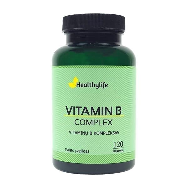 B grupės vitaminų kompleksas